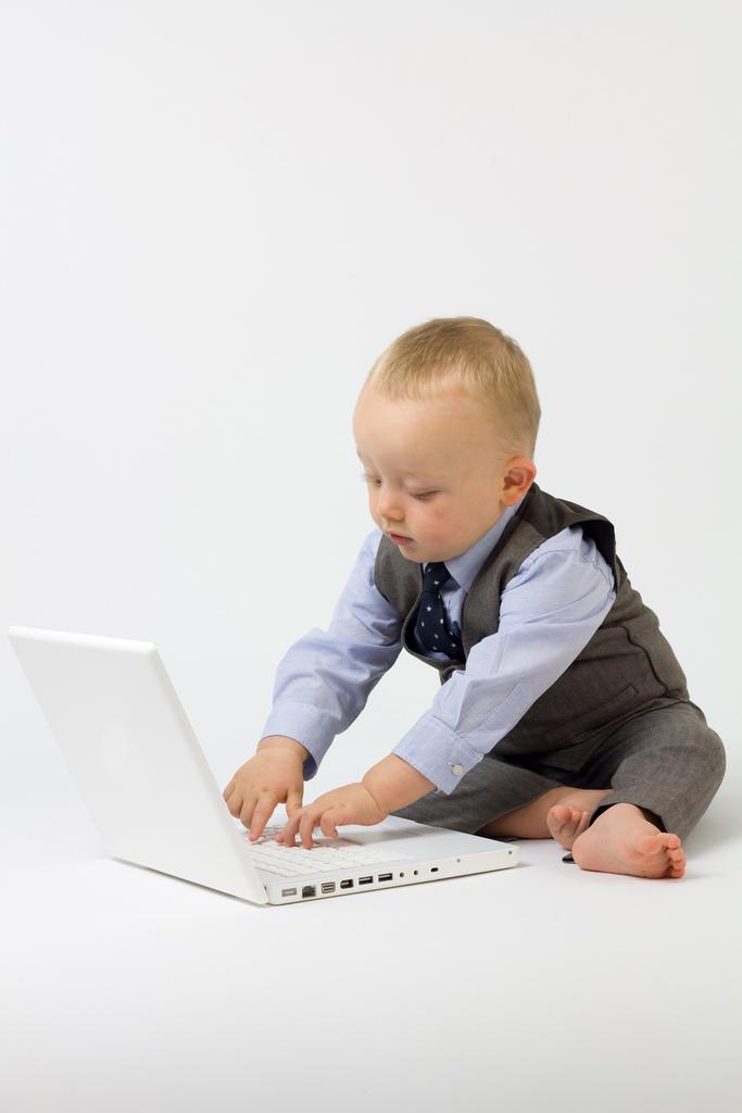 Votre bébé est (déjà) un geek