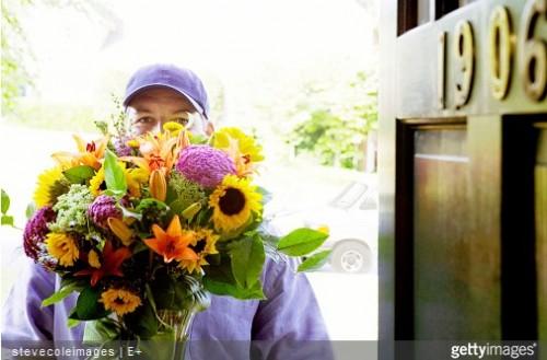 L'achat sur Internet booste le marché de la fleur