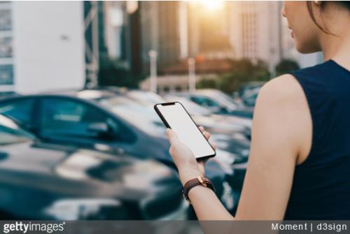 voiture connectée à votre smartphone